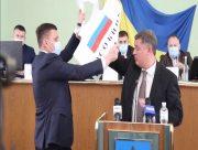 Депутат от ЕС спровоцировал драку в Херсонском облсовете (видео)