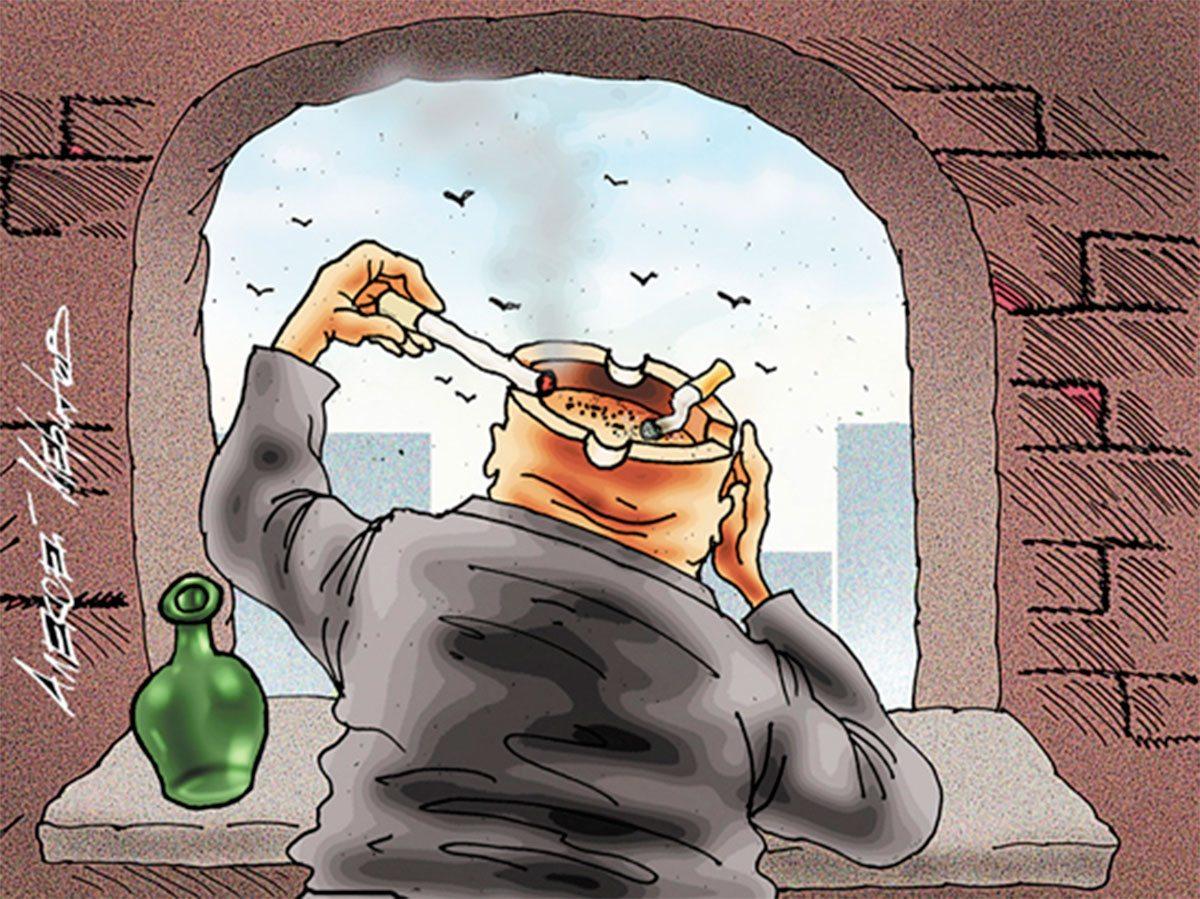 Степановка, курение, Яновский