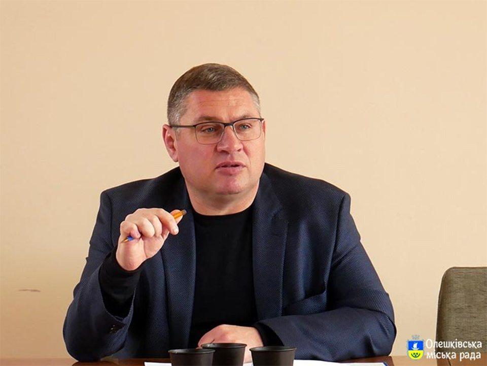 конфлікт, Олешківська громада