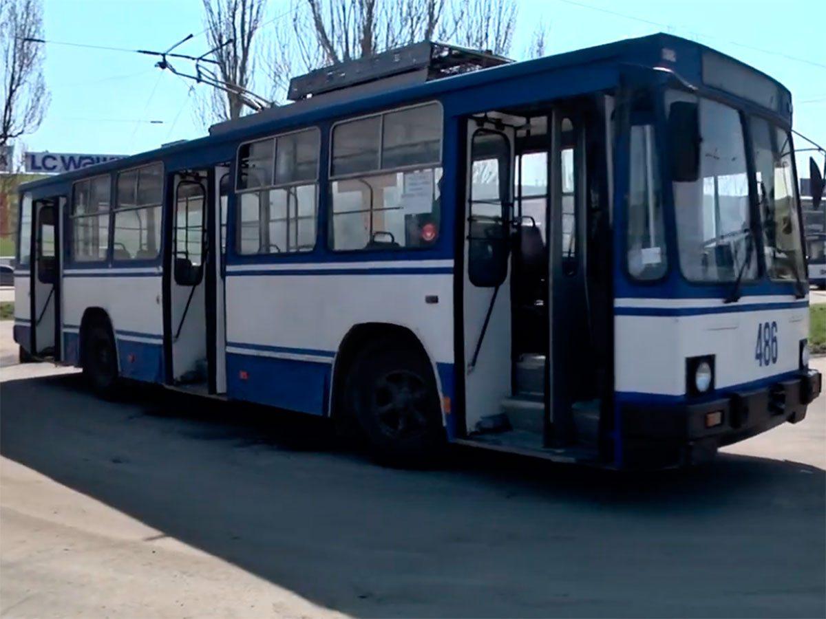 Херсон, відео, тролейбуси