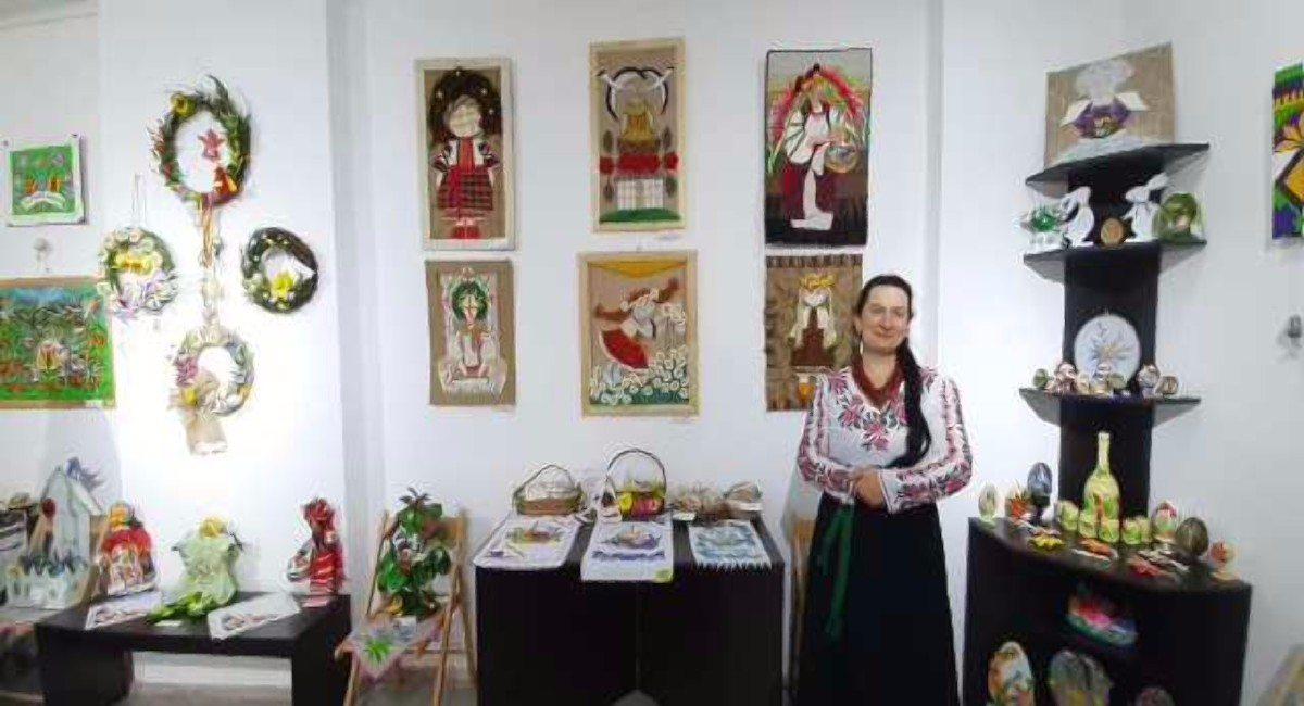 Херсон,центр народного творчества,выставка