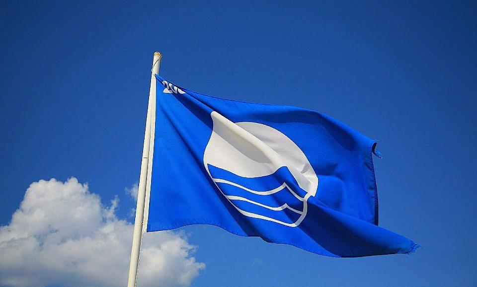 азовский пляж, блакитний прапор