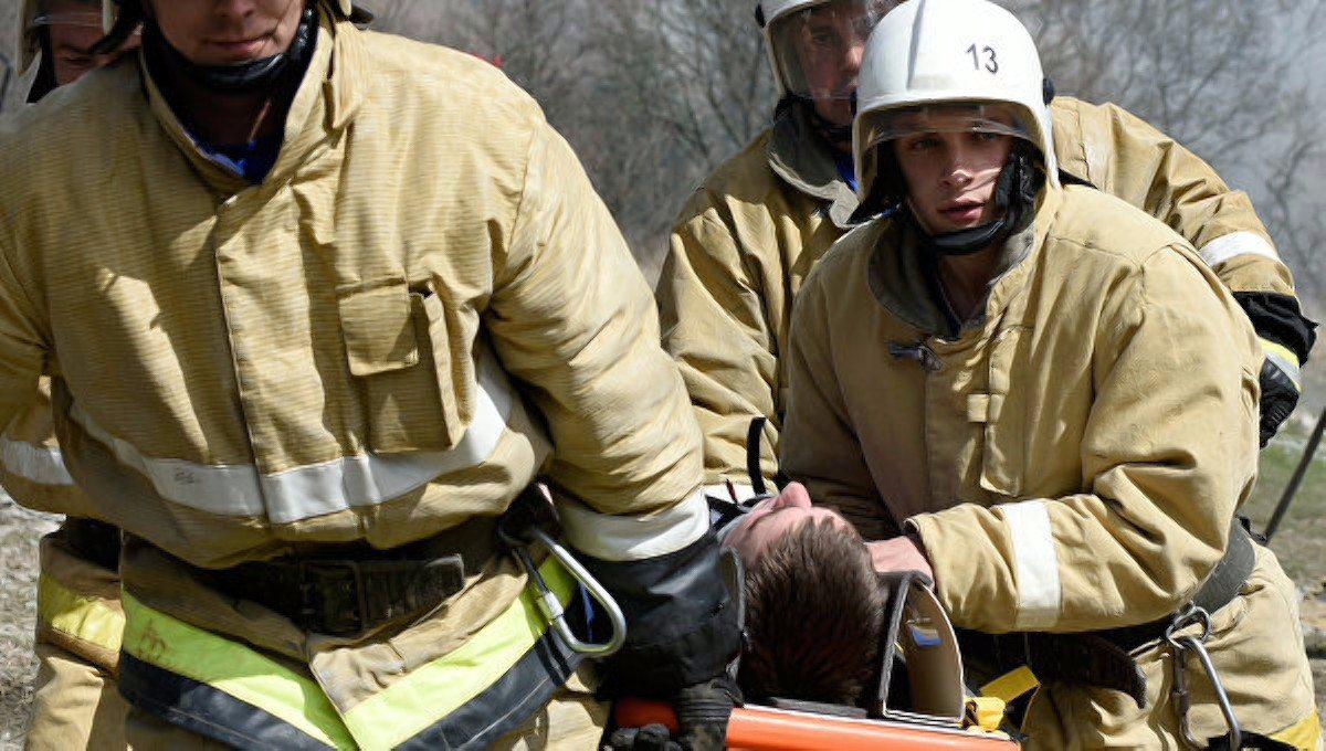 Чернобаевка,пожар дома,спасатели