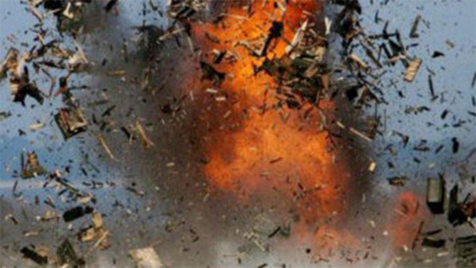 дом, взрыв, Геническ