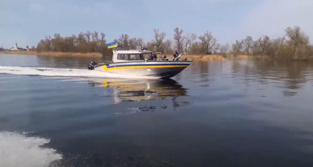 лодка, рыбак, полиция
