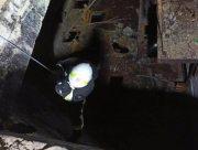 В Херсоне спасли мужчину, упавшего в 10-метровую яму