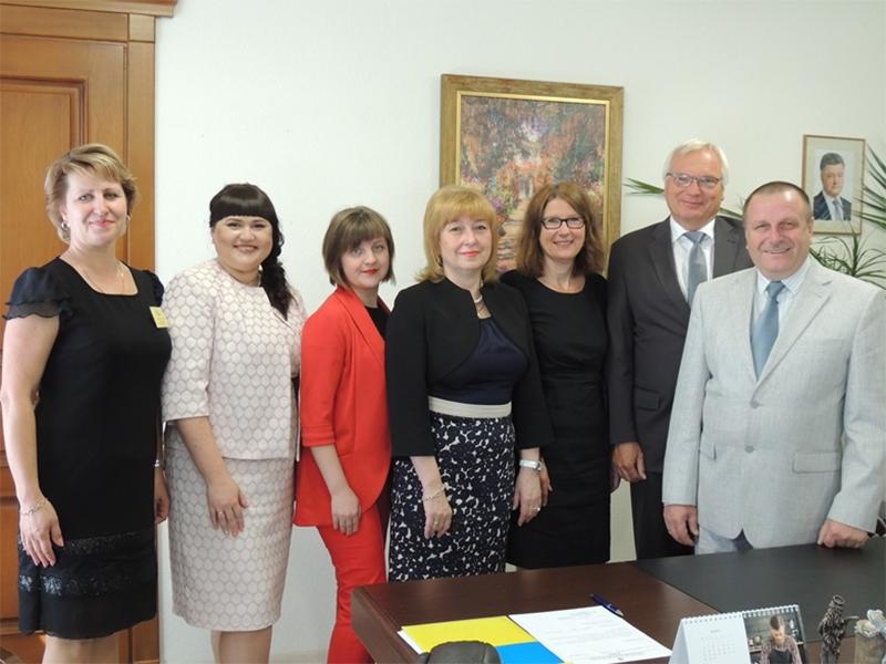 Херсонський держуніверситет відвідала німецька делегація