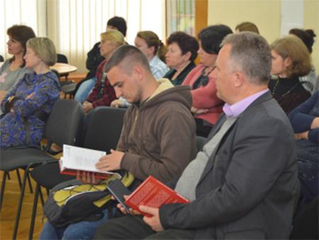 У Херсоні відбулася презентація книги «По живому. Околовоенные дневники».