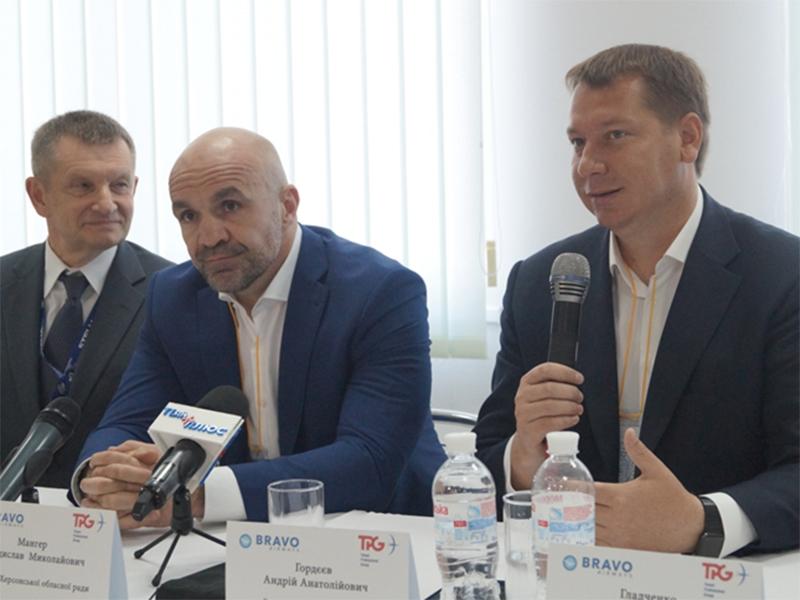 Андрій Гордєєв: для Херсонщини відкриття нового авіа-рейсу є вигідним бізнес-проектом