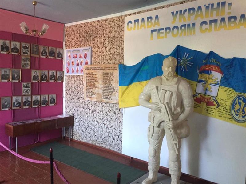Путилов поздравил патриотическую школу на Херсонщине