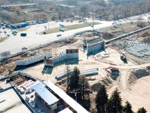 Строительство путепровода в Херсоне опять на грани остановки