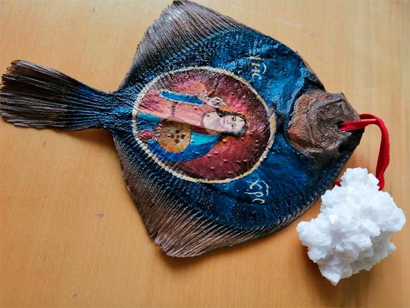 Херсонские иконы на камбале разъехались по Украине