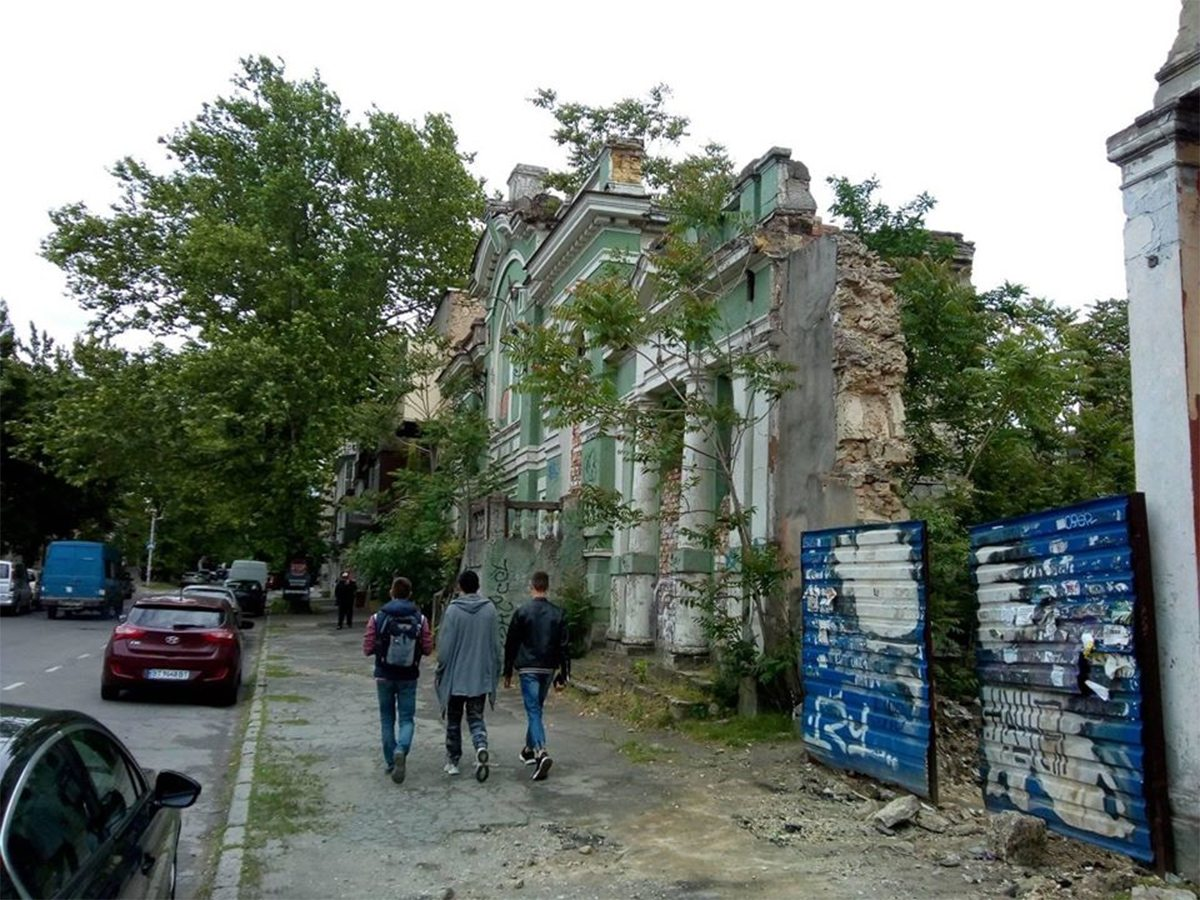 Херсонские руины культуры