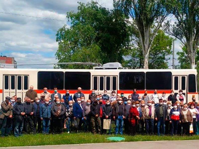 """Коллектив """"Херсонэлектротранс"""" готов к возобновлению работы городского транспорта"""