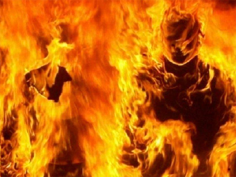 На Херсонщине горят люди