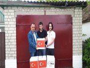 Турки-месхетинці з Херсонщини отримали продовольчі набори з Туреччини