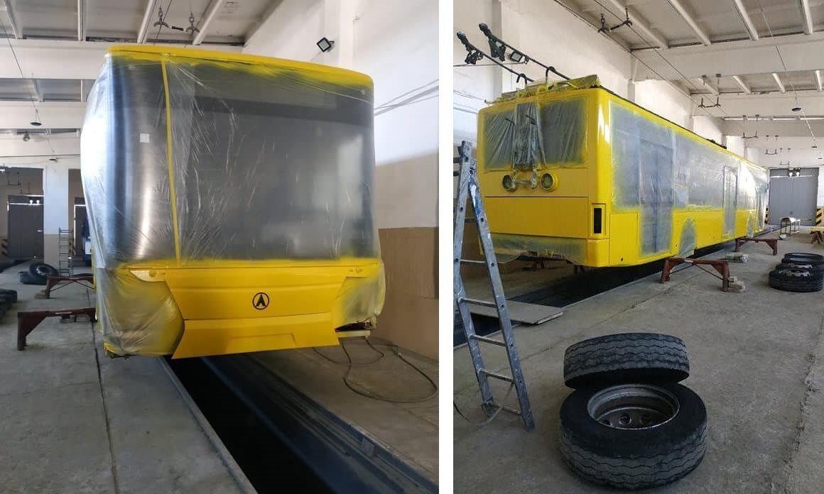 К снятию карантина Херсонэлектротранс выпустит на маршруты отремонтированные троллейбусы