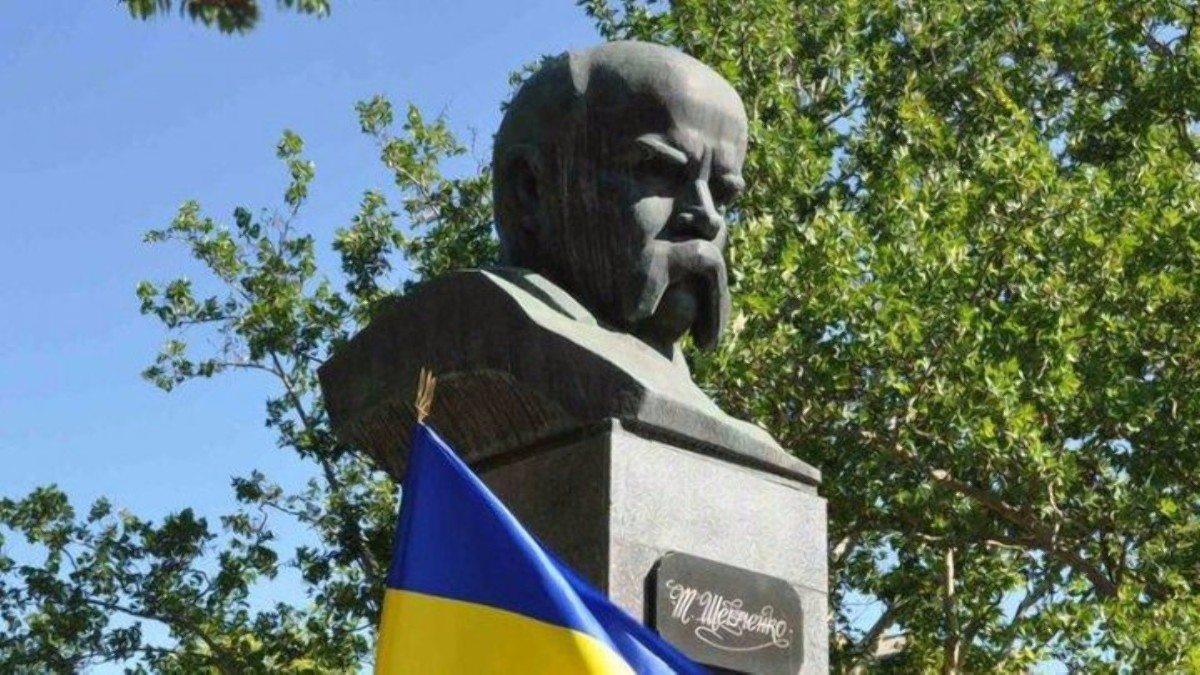 Тарас Шевченко,Херсон,перезахоронение