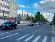 Победный автопробег прошёл и в Новой Каховке
