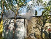 В Херсоне произошел пожар в парковом кафе