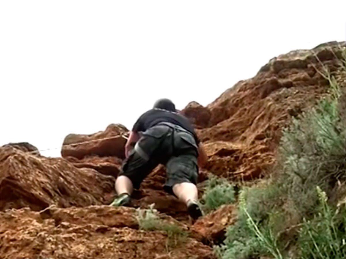 Херсонщина, відео, скелі