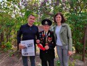 В Геническом районе на Херсонщине ветераны не остаются без внимания