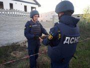 Житель Херсонщины нашёл старый артснаряд на стройке
