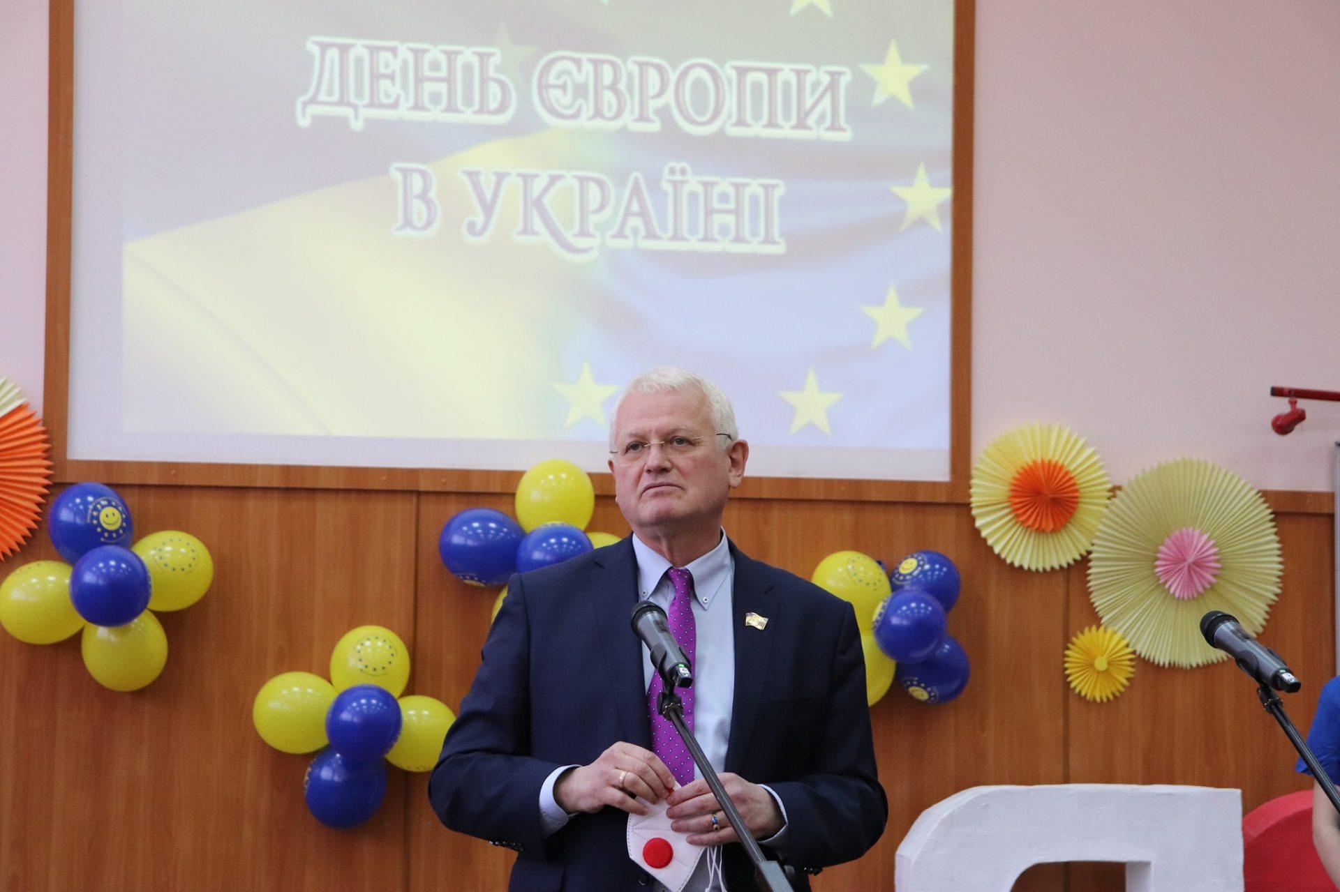 Співаковський, ректор, студенти, Дні Європи