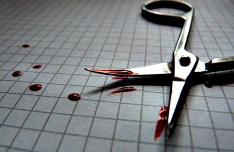 орудие преступления, маникюрные ножницы