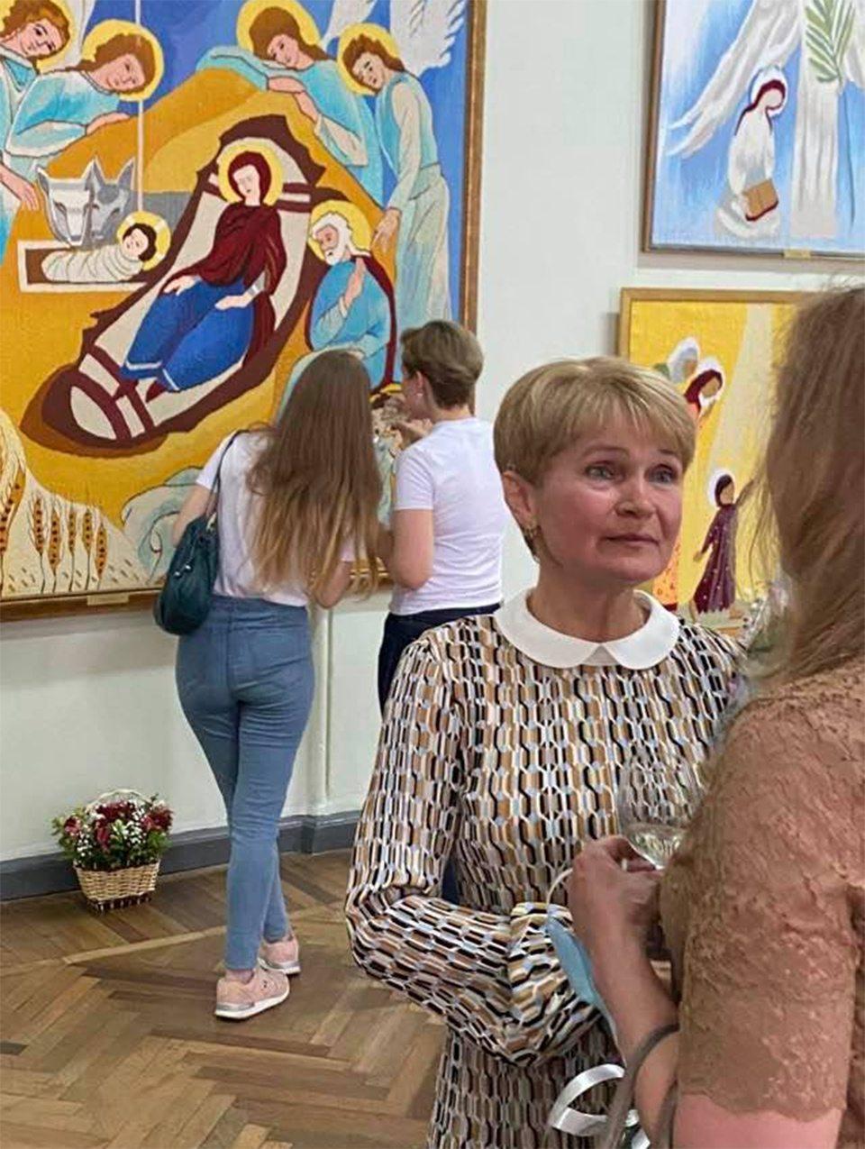 художник, Брынцева, выставка
