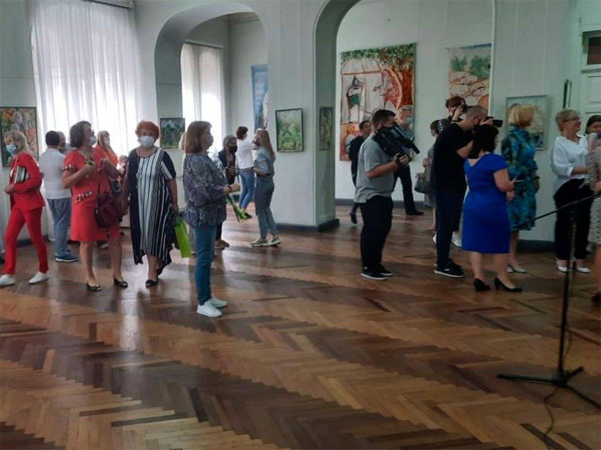 Херсон, виставка, Бринцева