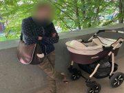 В Херсоне задержали пьяную женщину, гулявшую с младенцем в коляске