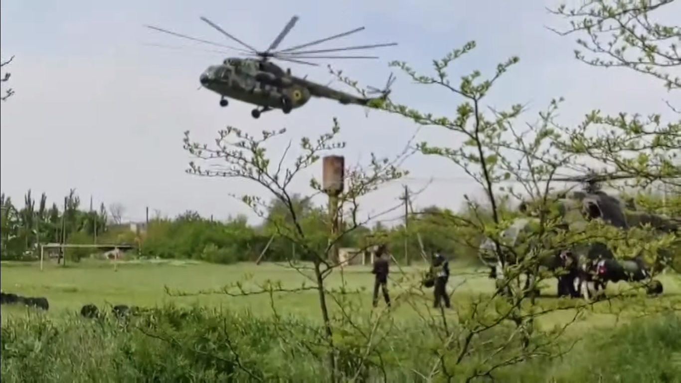 разумков, вертолет, авария