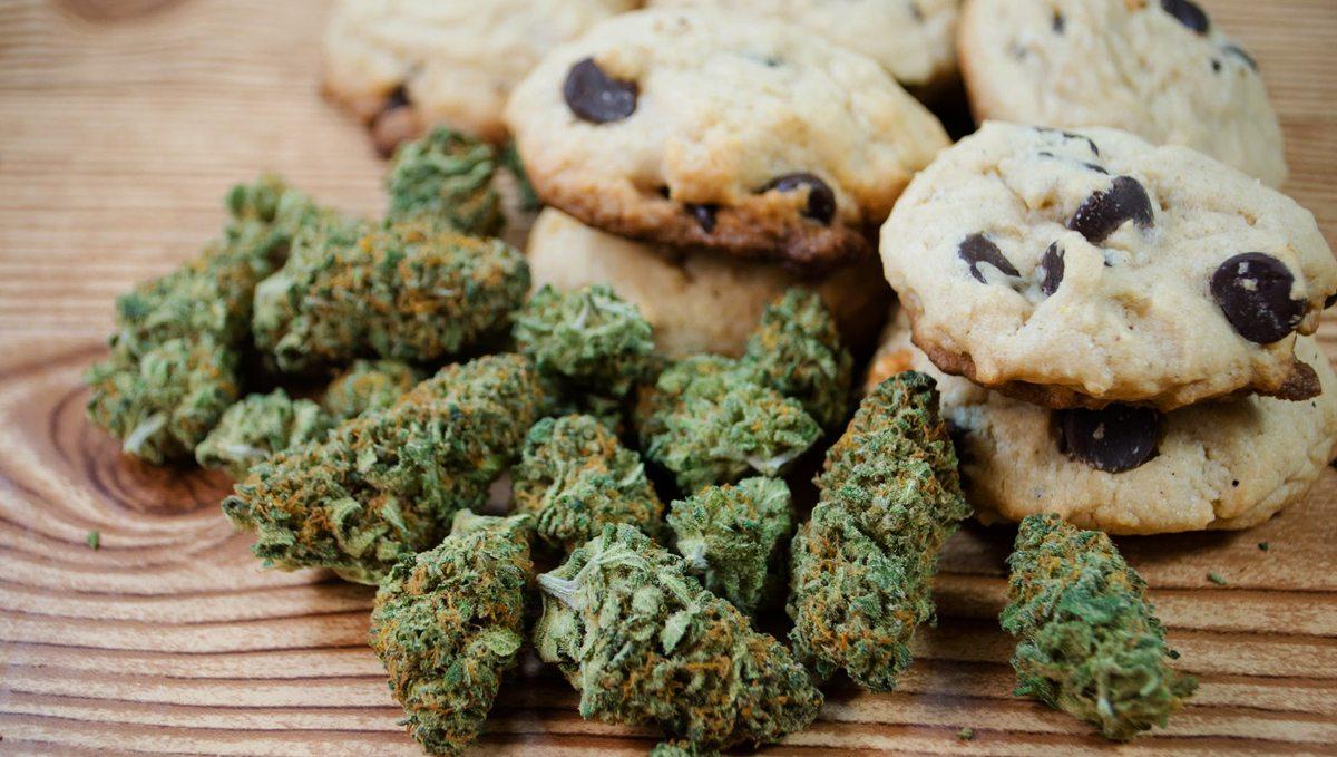 марихуана, печенье, наркотики