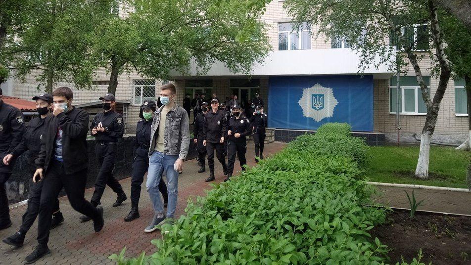 навчання, поліцейські, студенти