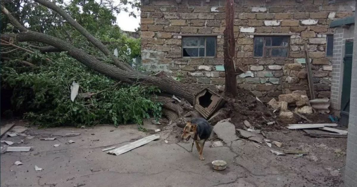 разрушения, торнадо, поселок