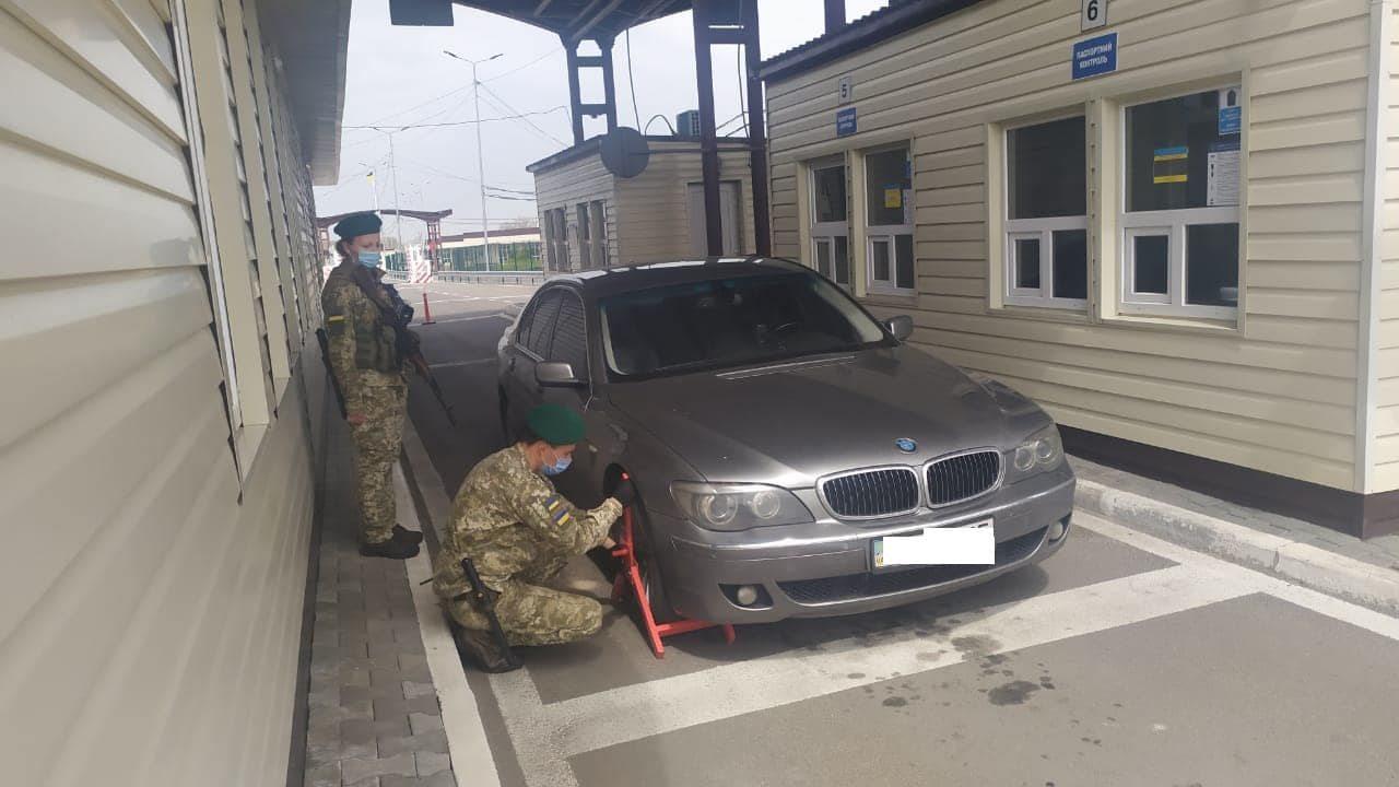 Крым,админграница,авто,угон