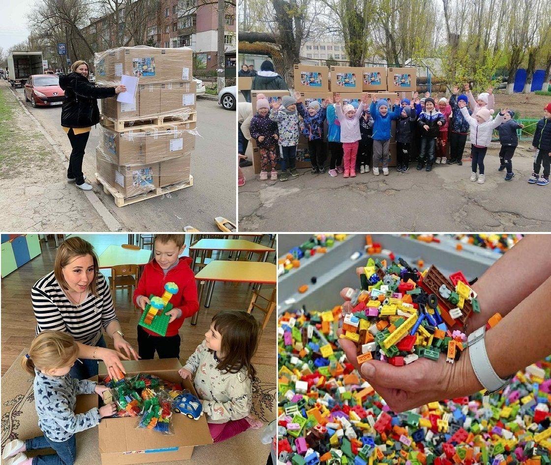 LEGO, детсады, конструкторы