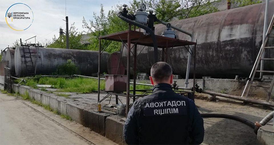 На Херсонщині припинено оборудку з реалізації фальсифікованих нафтопродуктів