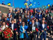 Егор Устинов поблагодарил участников праздника Победы на Херсонщине