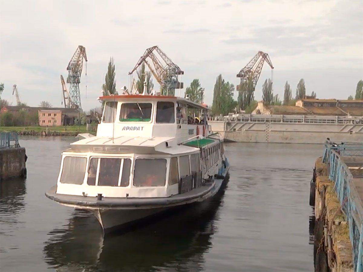У Херсонi проблеми річкових перевезень
