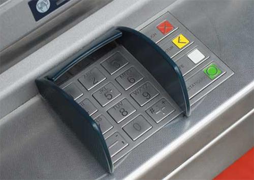 Нашли банкомат украденный в херсонском ТРЦ