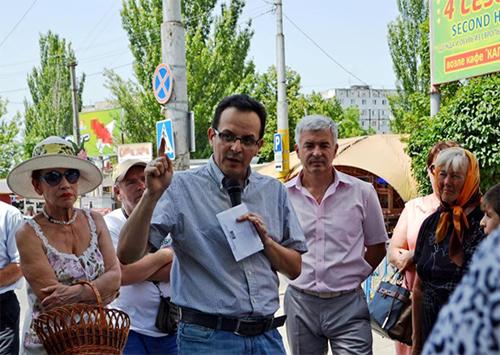 Олег Березюк: На Херсонщині я почув стогін людей, які просто не уявляють як вижити