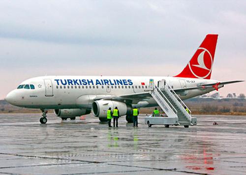 Авиарейсы Стамбул-Херсон и Херсон-Стамбул все же отменили