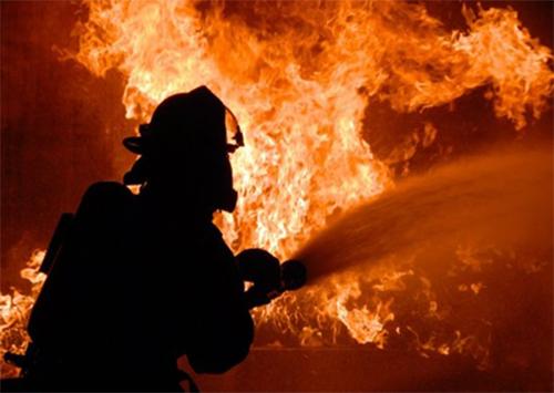 В Херсоне подожгли магазин