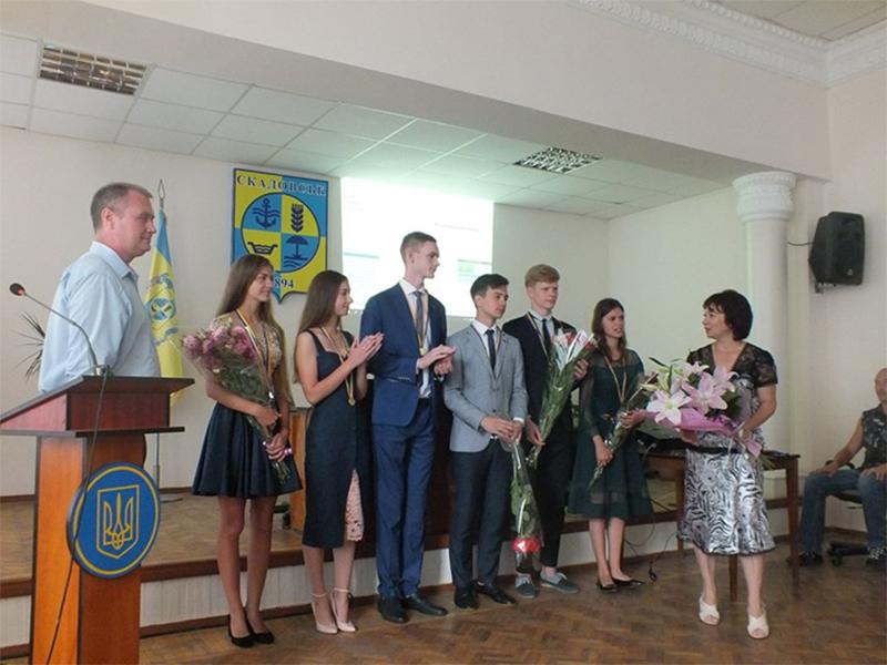 У Скадовській міській раді вручили медалі