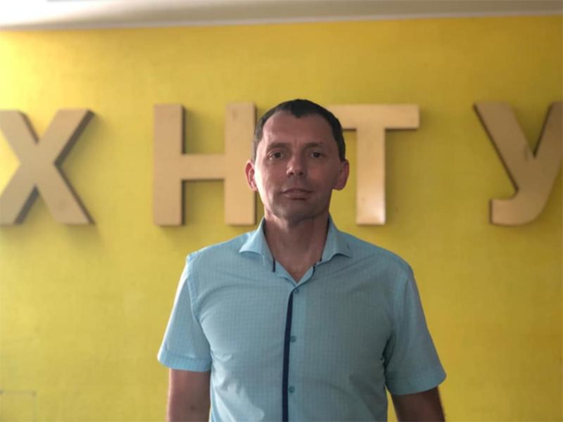 Юрій Рожков:для мене ХНТУ - рідний заклад