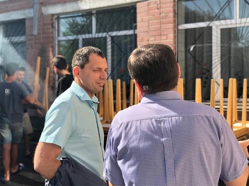 Юрій Рожков: Оновлення матеріально-технічної бази шкіл і садочків - це не розкіш, а гостра необхідність