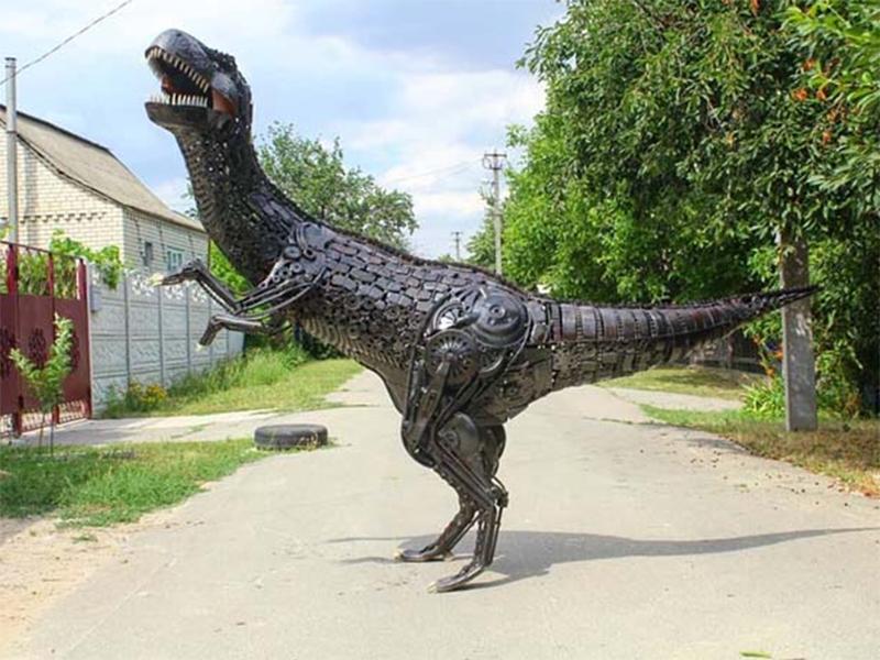 На Херсонщині побачили динозавра