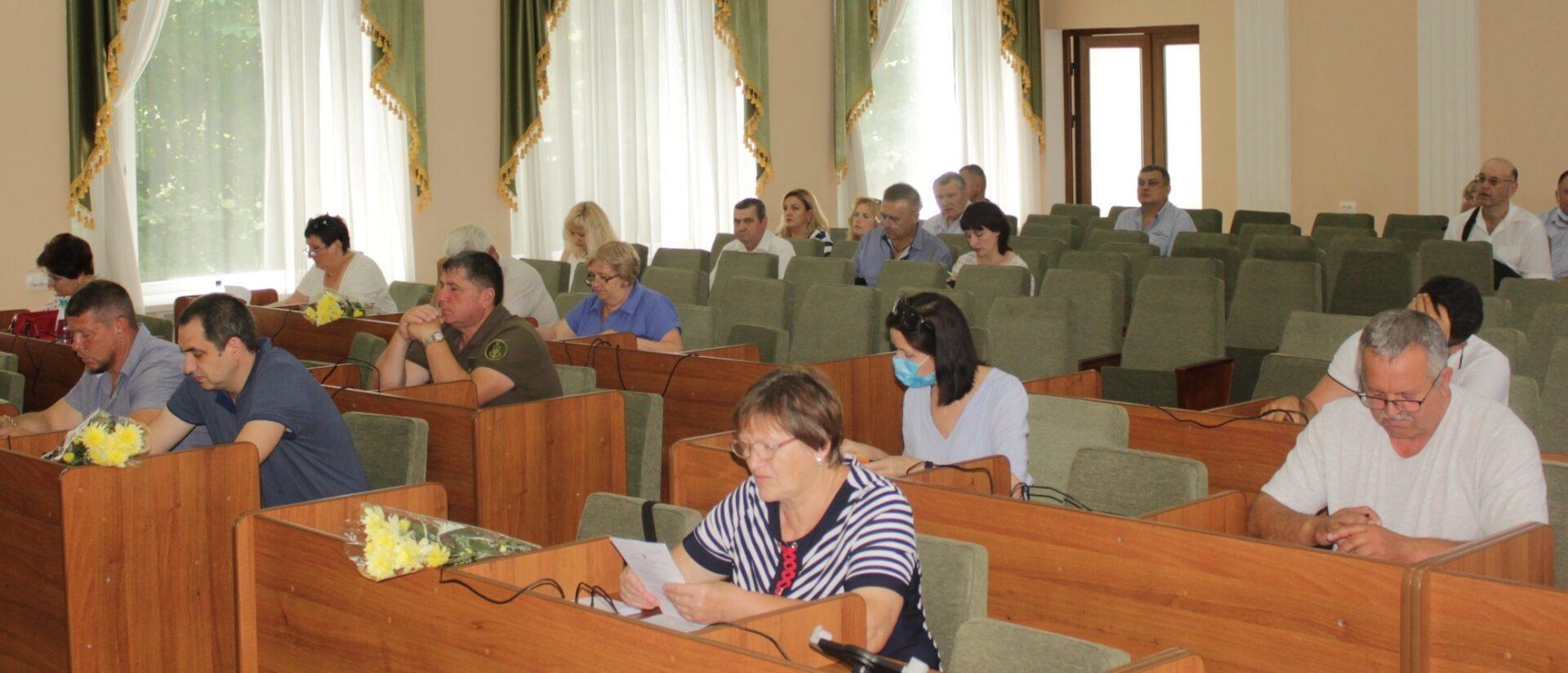 Депутати Олешківської районної ради зібралися на ювілейну сесію